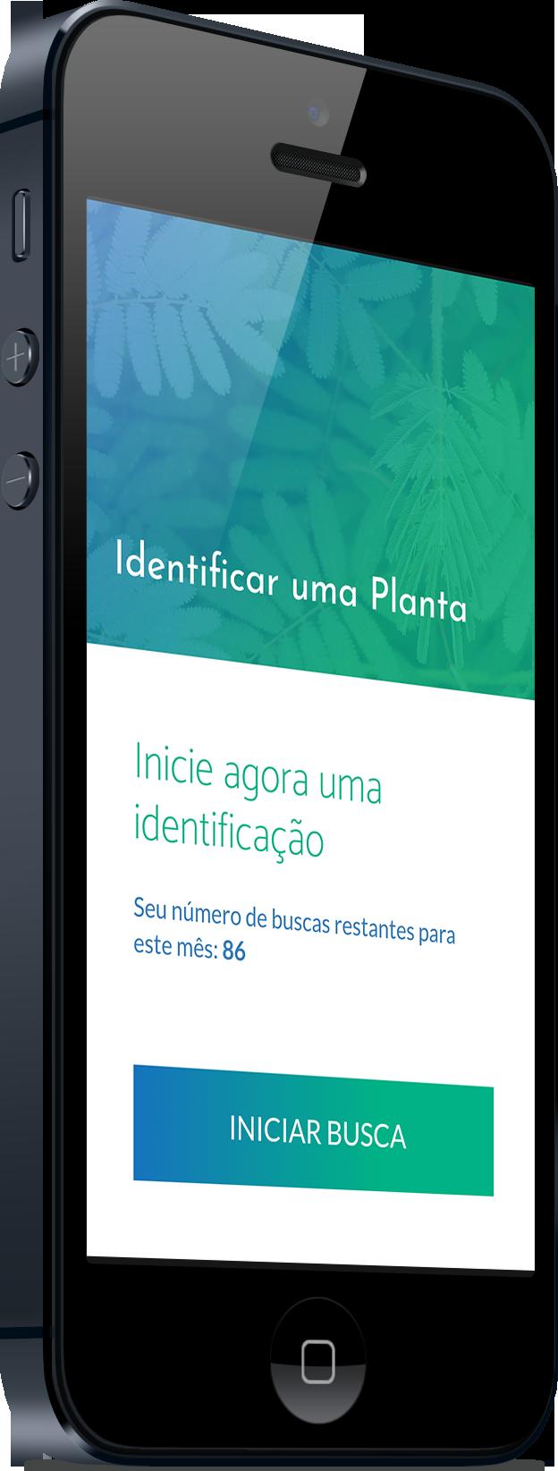 Aplicativo identificação de planta