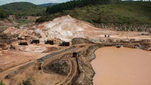Barragem Bento Rodrigues Desastre