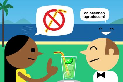 Canudos plásticos: vamos combater o seu uso?
