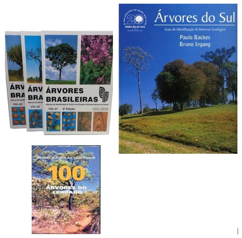 Livros guias identificação de plantas